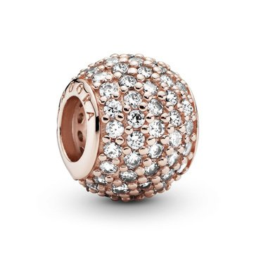 Pandora Rose Pave Lights CZ Charm