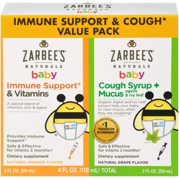 Zarbees Immune + Mucus Twin Pack