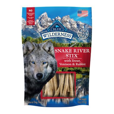 Blue Buffalo Wilderness Snake River Grill Stix Dog Treats
