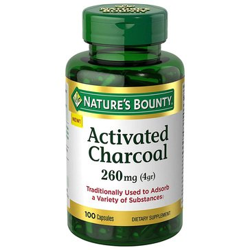 Nature's Bounty Charcoal Activated 100ct