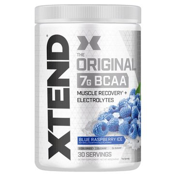 Xtend The Original BCAA Muscle Recovery + Electrolytes Blue Raspberry Ice 30 Servings