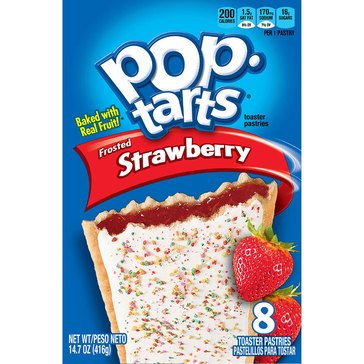 Pop-Tarts Frosted Strawberry - 4ct/13.5 oz