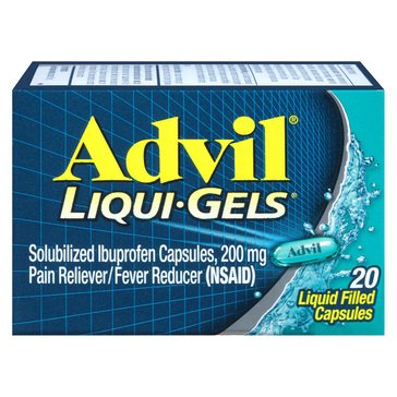 Advil 200MG Liqui-Gels, 20-Count