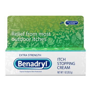 Benadryl Extra Strengh Itch Stopping Cream, 1oz