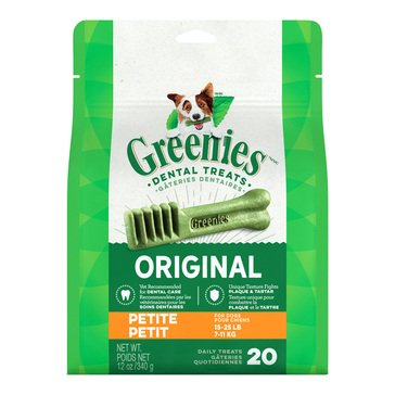 Greenies Petite Dog Treats