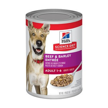 SCIENCE DIET K9 ADULT BEEF 13OZ