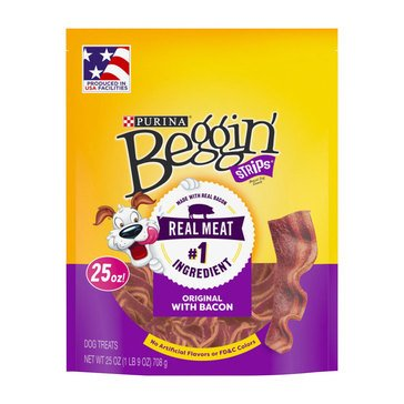 Beggin' Strips by Purina Bacon 25 oz. Dog Treats