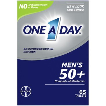 One a Day Men's 50+ Advanced 65ct
