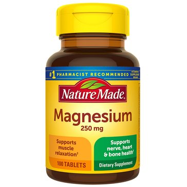 Nature Made Magnesium 250 MG 100ct
