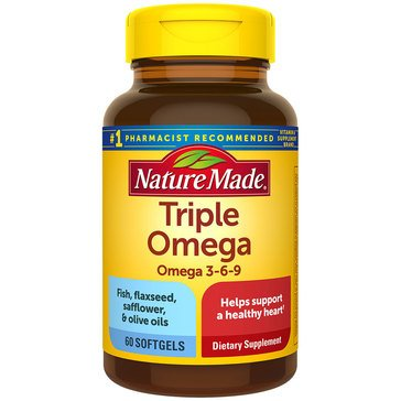 Nature Made Triple Omega Softgels 60ct