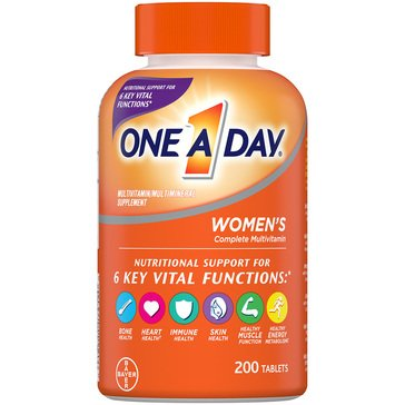 One A Day Women's Multivitamin 200ct