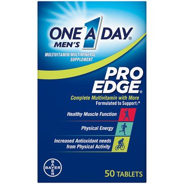 One A Day Men's Pro Edge 50ct