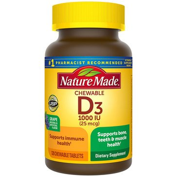 Nature Made Vitamin D/D3 1000 IU 120ct