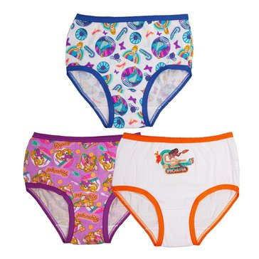 PRINCESS 3PR PANTY PACK 2T/3T