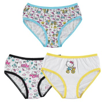 HELLO KITTY 3PR PANTY PACK 4T