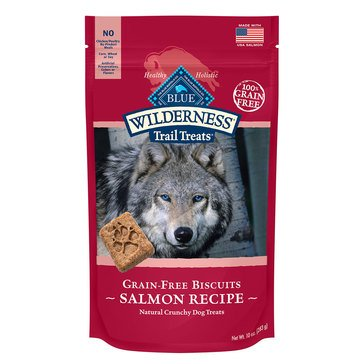 Blue Buffalo Wilderness Salmon Biscuits Dog Treats