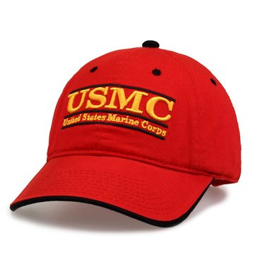 The Game USMC F15 Design with Eagle, Globe & Anchor Back Hat