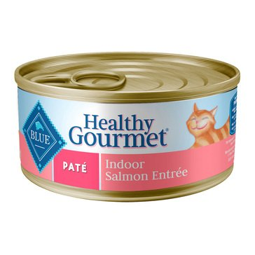 Blue Buffalo Pate Indoor Salmon Entrée Adult Wet Cat Food