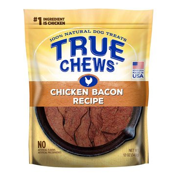 True Chews Premium Chicken and Bacon Sizzlers Dog Treats