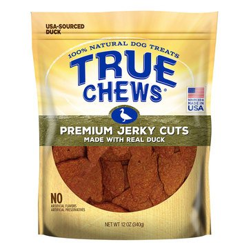True Chews Premium Jerky Duck Tenders Dog Treats