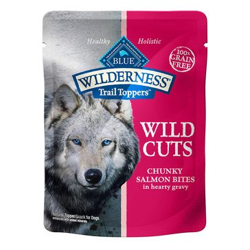 Blue Buffalo Wilderness 3 oz. Salmon Cuts Adult Wet Dog Food