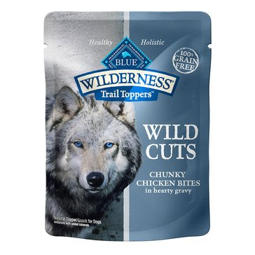 Blue Buffalo Wilderness 3 oz. Chicken Cuts Adult Wet Dog Food