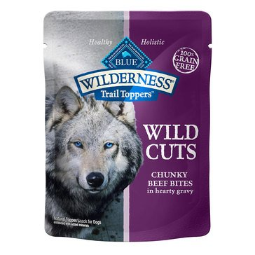 Blue Buffalo Wilderness 3 oz. Beef Cuts Adult Wet Dog Food