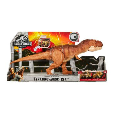 Jurassic Thrash and Throw T.Rex Action Figure
