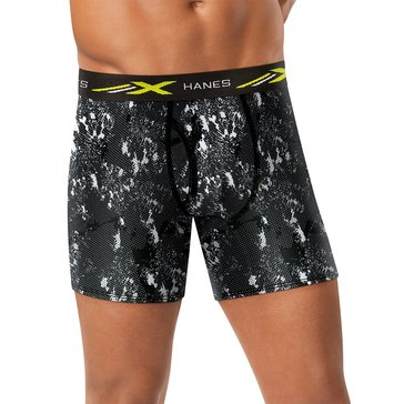Hanes X-Temp Mesh Stretch Print 4PK Boxer Brief