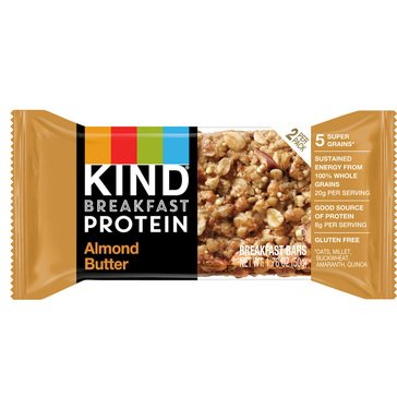 KIND Protein Breakfast Singles Almond Butter - 2pk/1.76oz