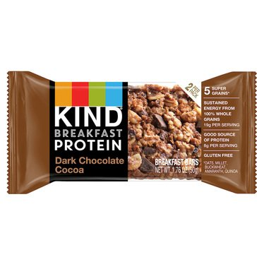 KIND Protein Breakfast Singles Dark Chocolate Cocoa 2pk/1.76oz
