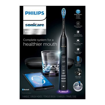 Philips Sonicare DiamondClean Smart 9500 Black Electric Toothbrush