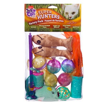 Hartz Just For Cats Super Hunters Variety Pack Cat Toys