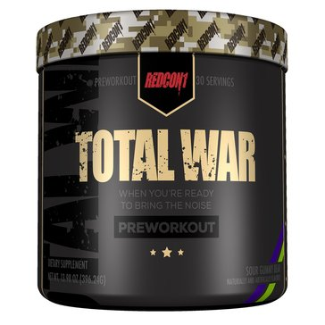 Redcon Total War Pre-Workout Sour Gummy Bear 30 Servings