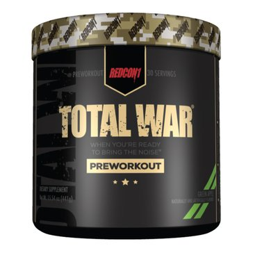 Redcon Total War Pre-Workout Green Apple 30 Servings