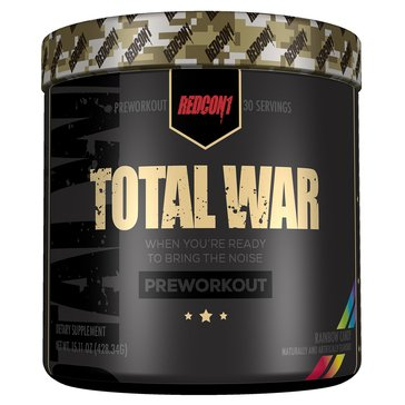 Redcon Total War Pre-Workout Rainbow Candy 30 Servings