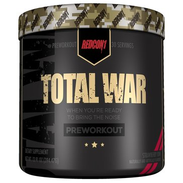 Redcon Total War Pre-Workout Strawberry Kiwi 30 Servings