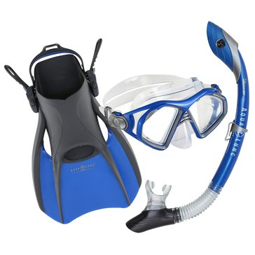 Aqua Lung Trooper Snorkeling Set, Medium
