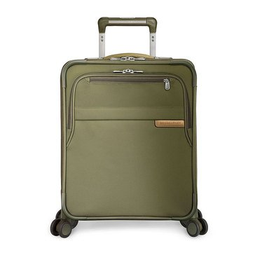 Briggs Riley Baseline 21 Inch International Carry On Expandable Wide Body Spinner Upright