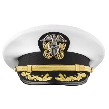 Kingform Men's CAPT/CDR Complete Combination Dress Cap Style #7713