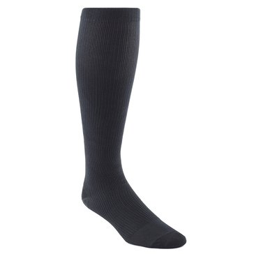 Jefferies Black Over-The-Calf Compression Support Dress Socks 1 Pair Style #1010