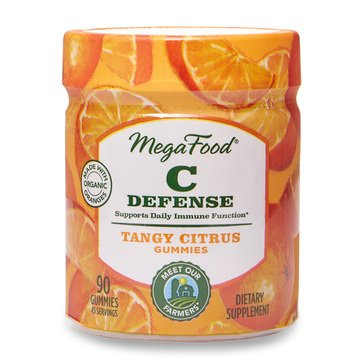 Megafood C Defense Tangy Citrus Gummies 90ct
