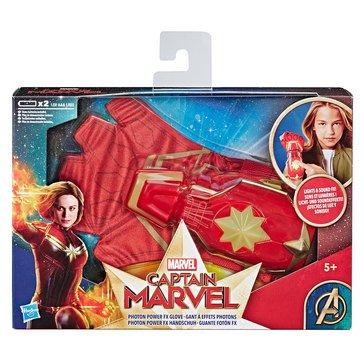 Marvel Comics Captain Marvel Photon Power Fx Glove