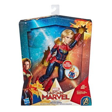 Marvel Comics Captain Marvel Photon Power Fx Action Figure