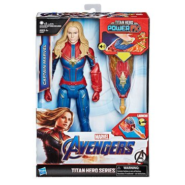 Marvel Comics Avengers: Endgame Titan Hero Power FX Captain Marvel Action Figure