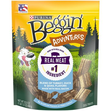 Beggin' Strips by Purina Adventures Blend Dog Treats