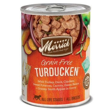 Merrick Classic 12.7 oz.Turducken Adult Wet Dog Food