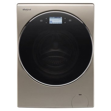 Whirlpool 2.8-Cu.Ft. Smart All-In-One Washer & Dryer Combo, Cashmere (WFC8090GX)