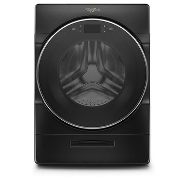 Whirlpool 5.0-Cu.Ft. Smart Front Load Washer, Black Shadow (WFW9620HBK)
