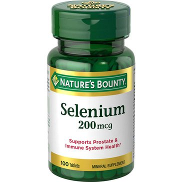 Nature's Bounty Selenium 200 MCG 100ct